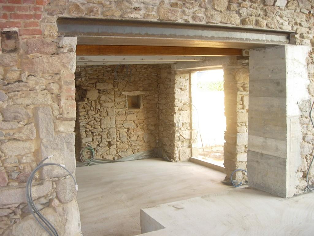 Faire Une Fenetre Dans Un Mur Porteur Prix ouverture de mur en pierre, béton dans la haute-savoie 74